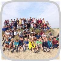 Zeeklas met het 5de en 6de leerjaar: enkele foto's